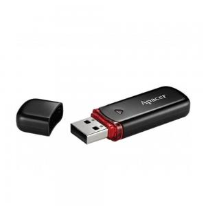 Флешка Apacer USB2.0 Flash Drive AH333 64GB Black
