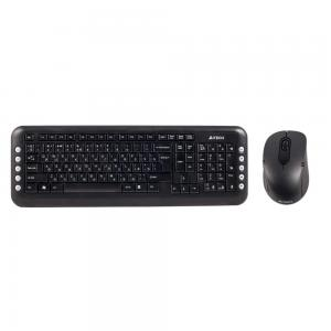 A4Tech Клавиатура + мышь  Computer Keyboard Set 7200N