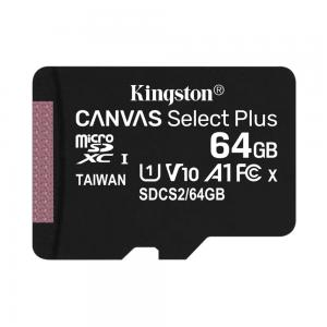 Карта памяти Kingston Canvas Select microSDCS/64GB